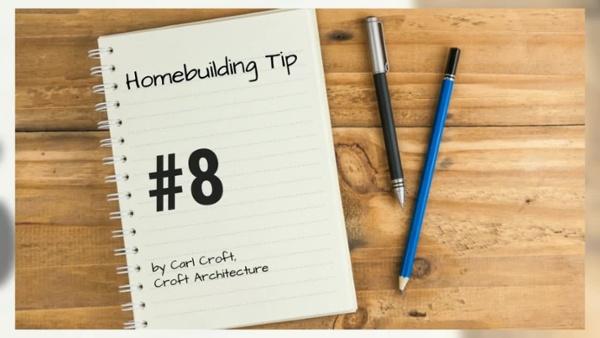 12 Tips of Christmas for Ho Ho Homebuilding. Tip #8HD
