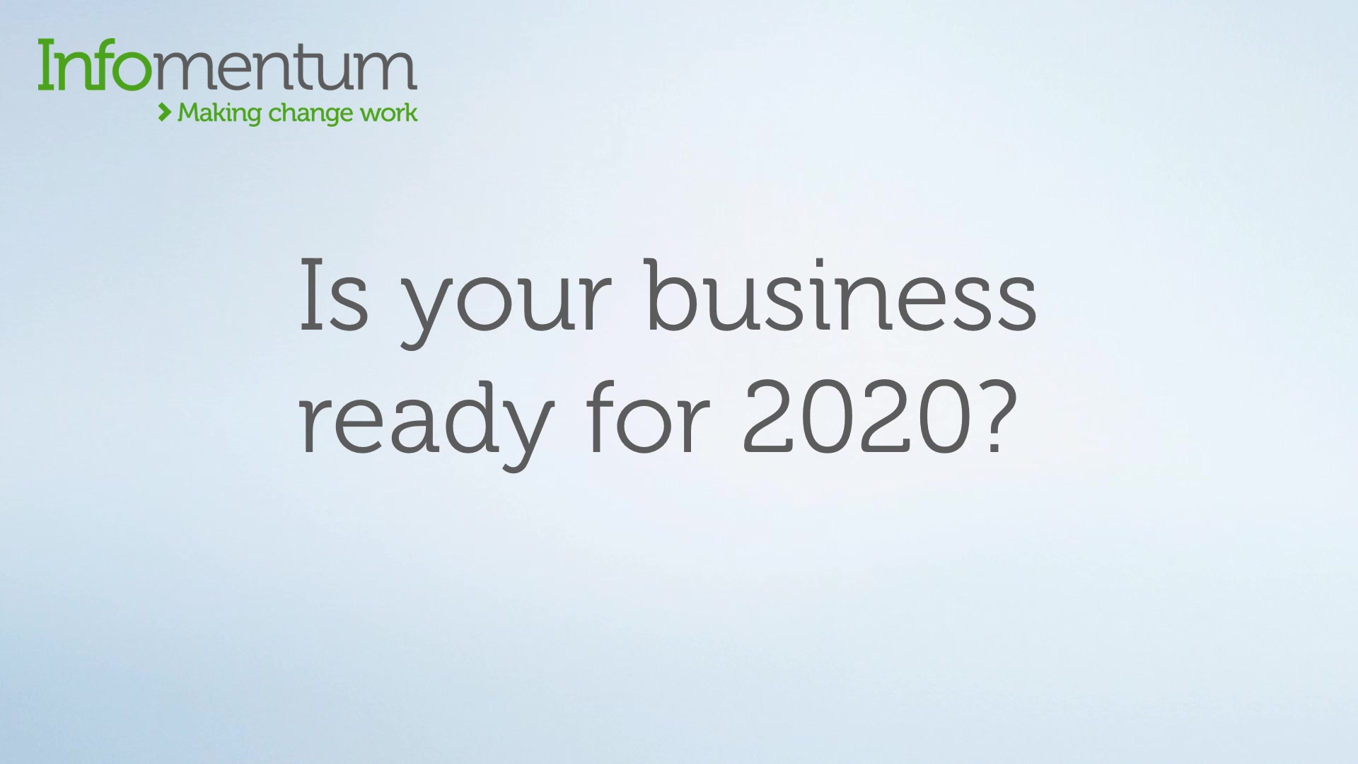 Business 2020 video2
