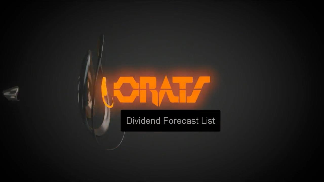 DividendForecasts