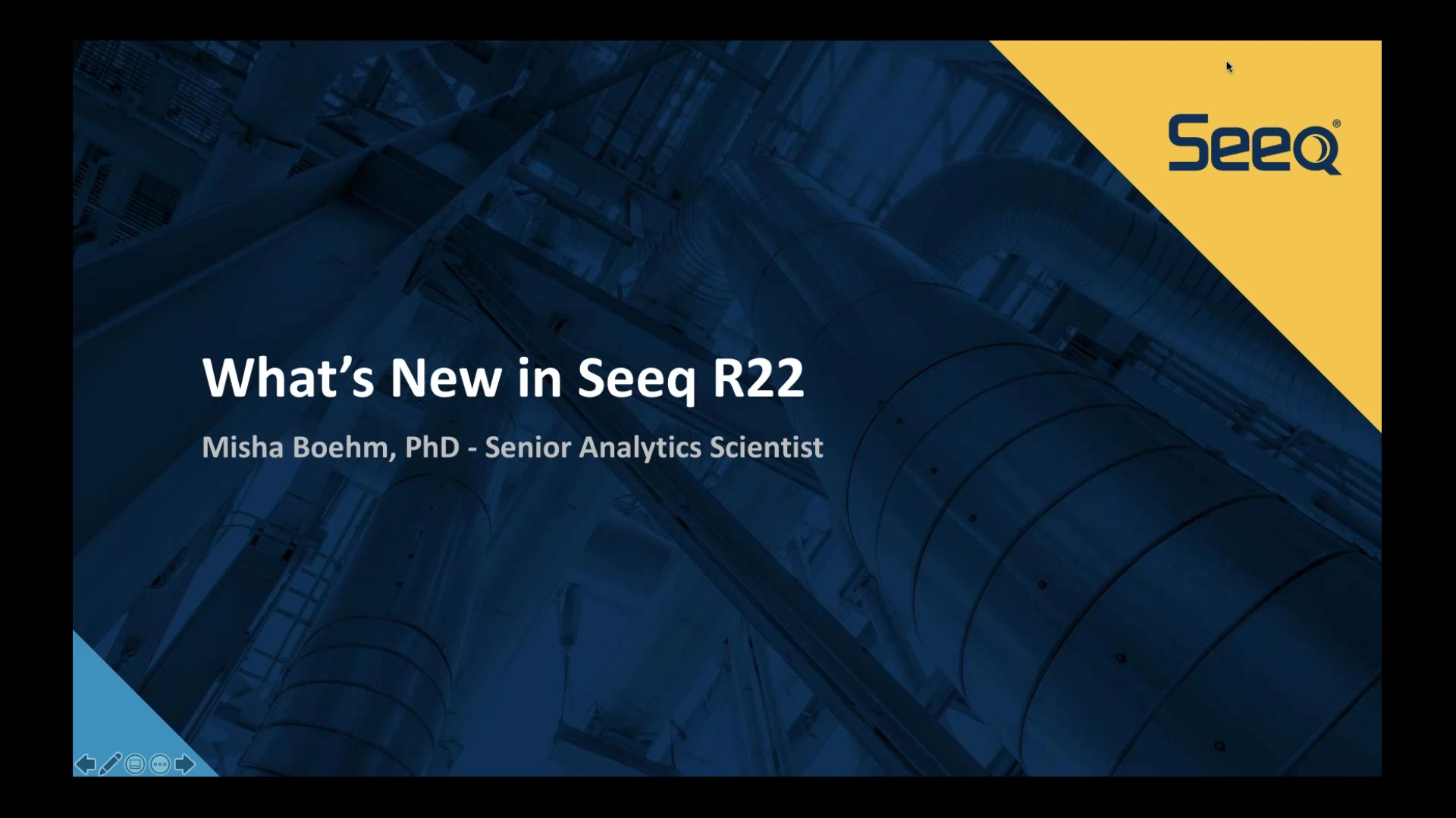 New Features in Seeq R22