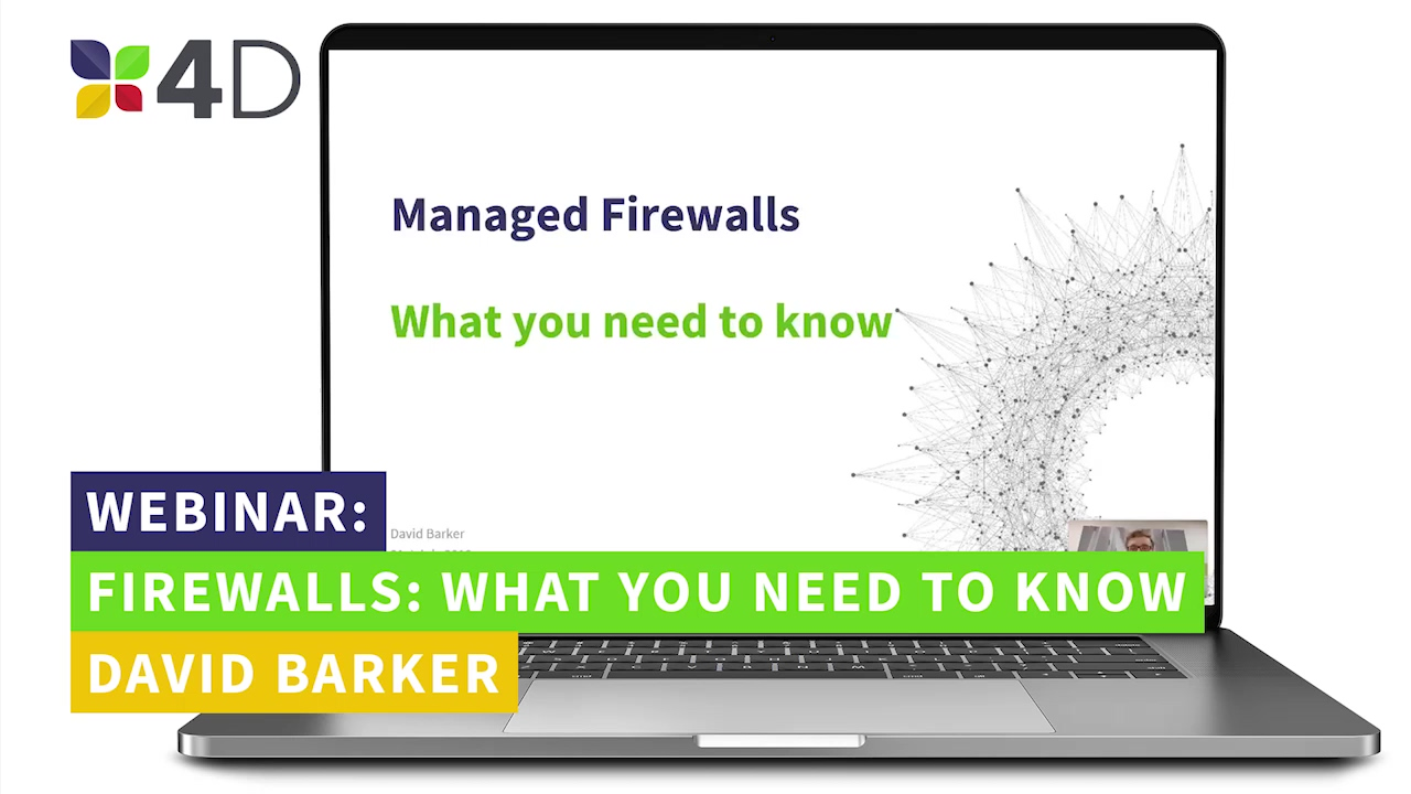 Webinar - Managed Firewalls - What you need to know - DB
