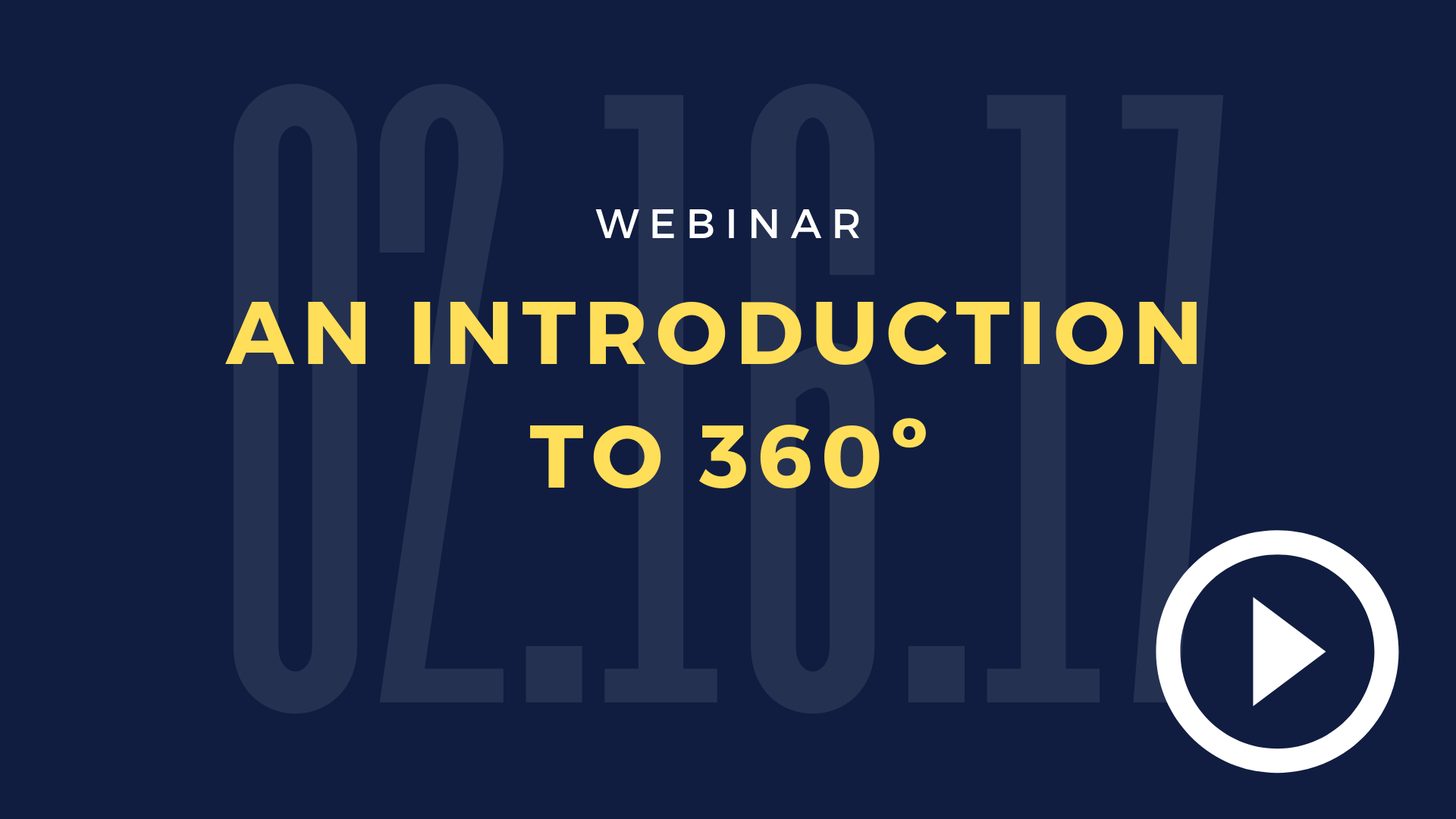 An_Introduction_To_360°