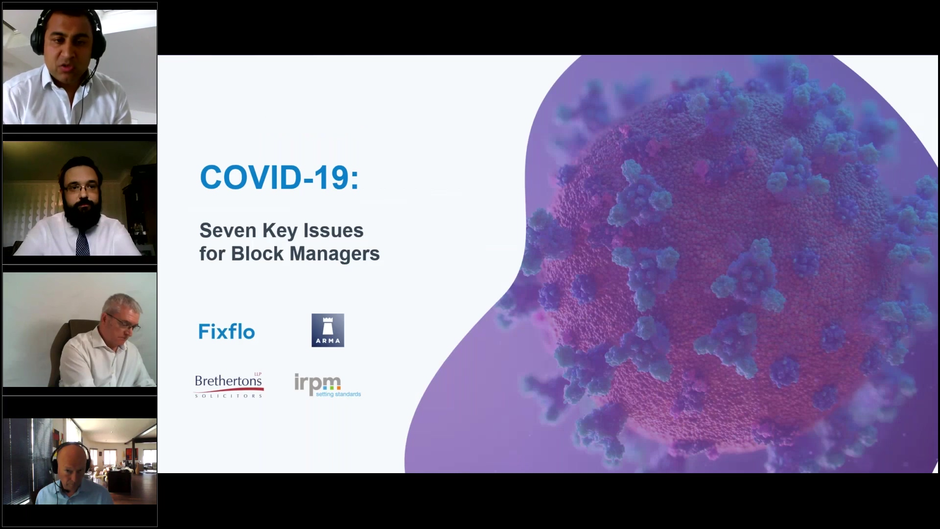 [Webinar] COVID-19_ Seven Key Issues For Block Managers (final)