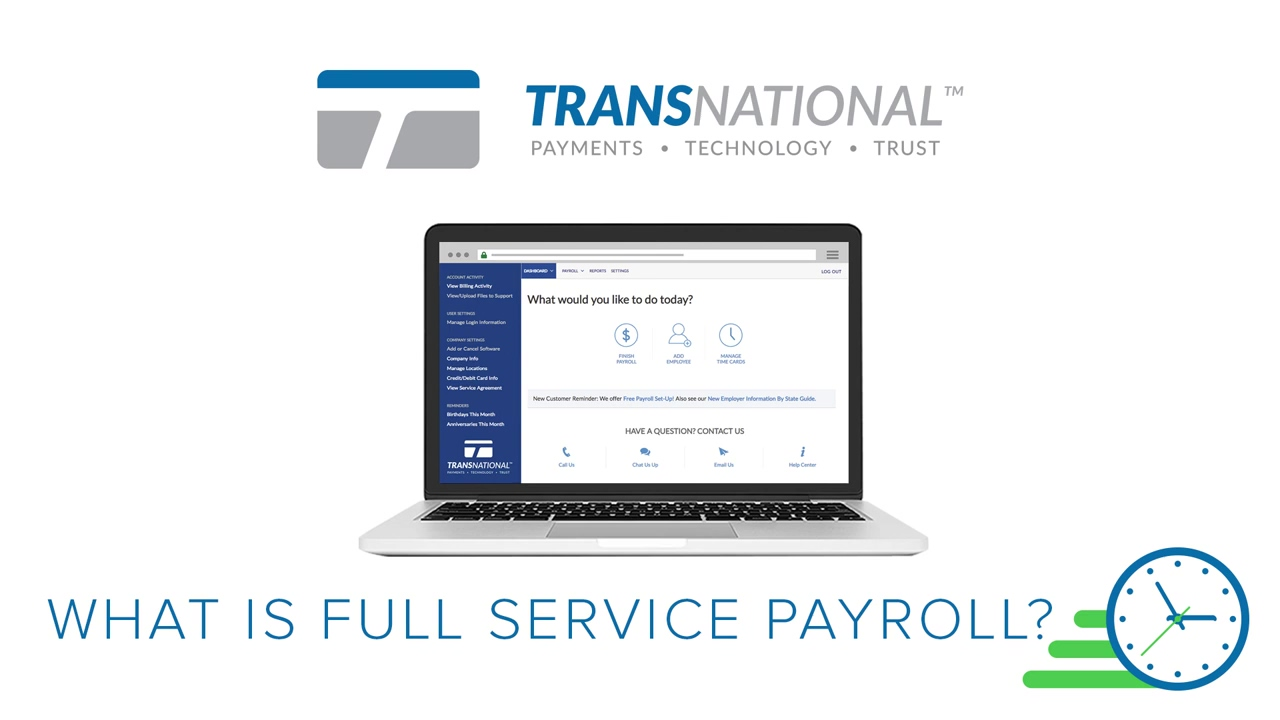 What Is Full Service Payroll_