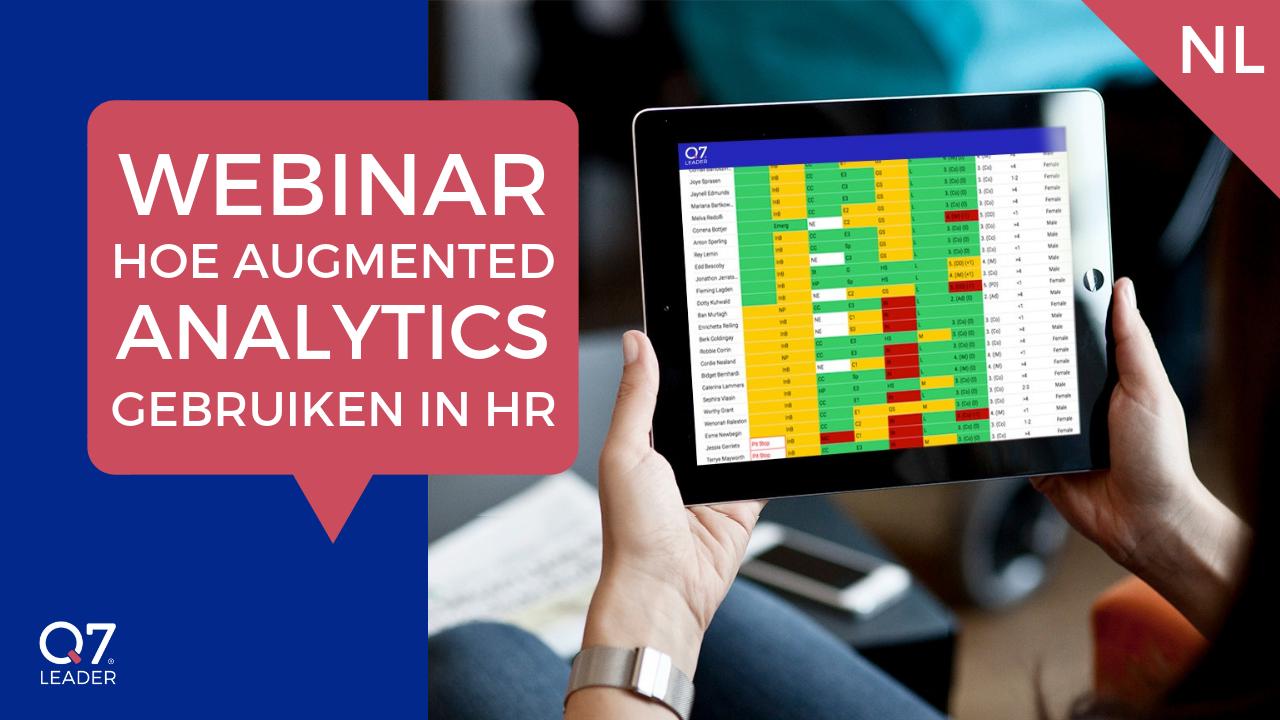 Hoe augmented analytics gebruiken in HR