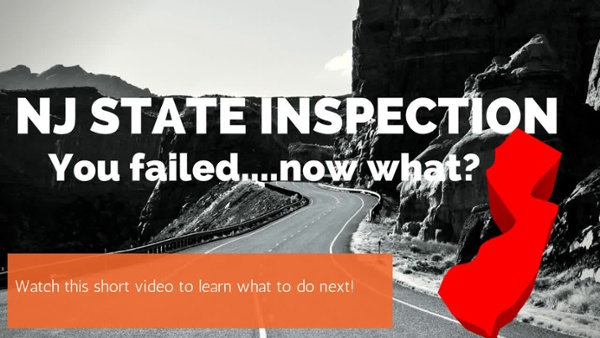 What Happens If Your Car Doesn't Pass the NJ State Inspection?