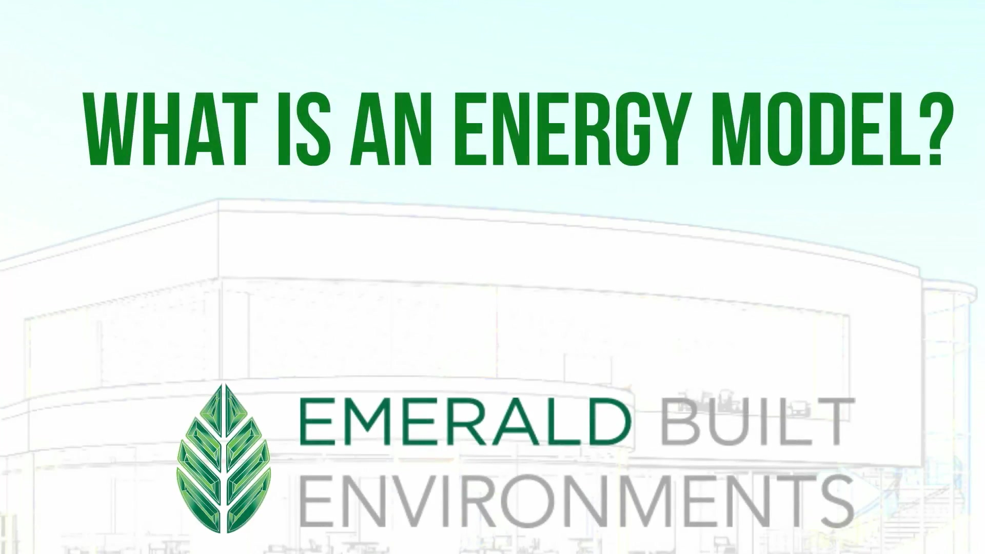 EBE What is Energy Model 1080