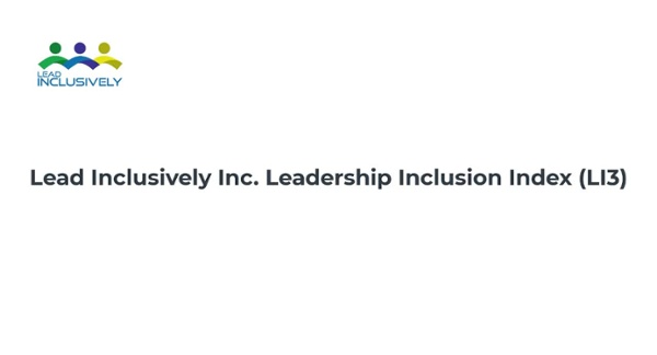 Leadership Inclusion Index demo video w female V4