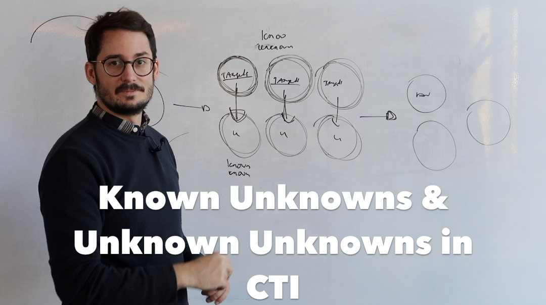 Whiteboard Session Episode 4 Known Unknowns