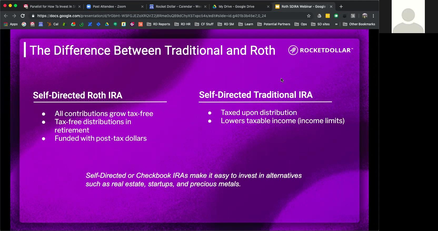 Roth IRA Webinar Chris P