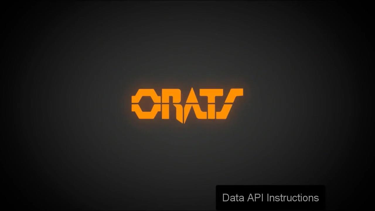 Data API Intro