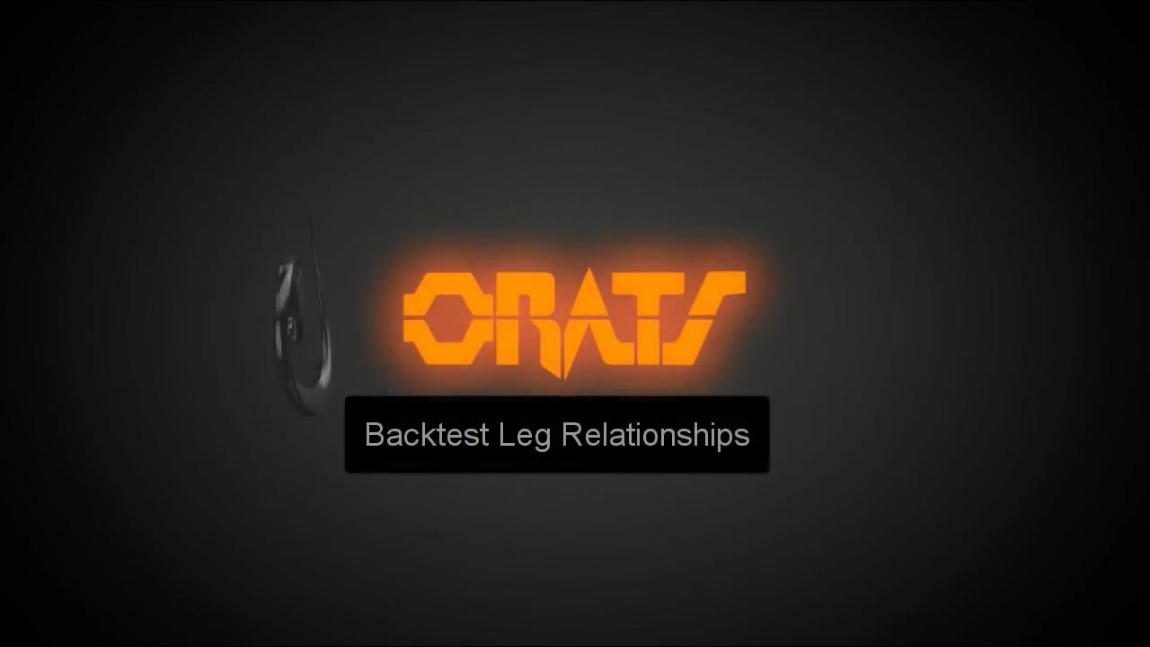 Backtest Setting Leg Relationships