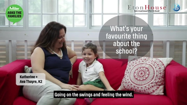 2019 [M718] The Finder asks Parents why they love the school