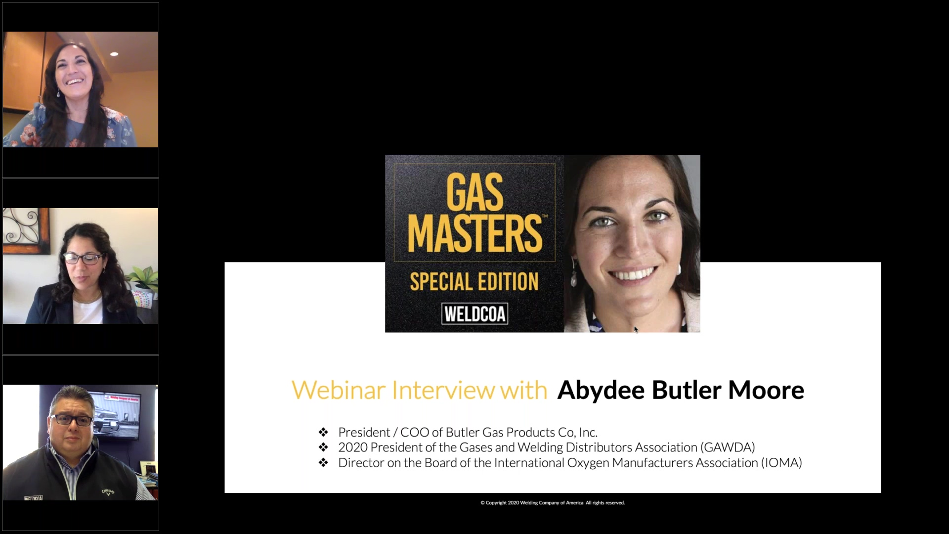 Special Edition Interview with Abydee Butler Moore