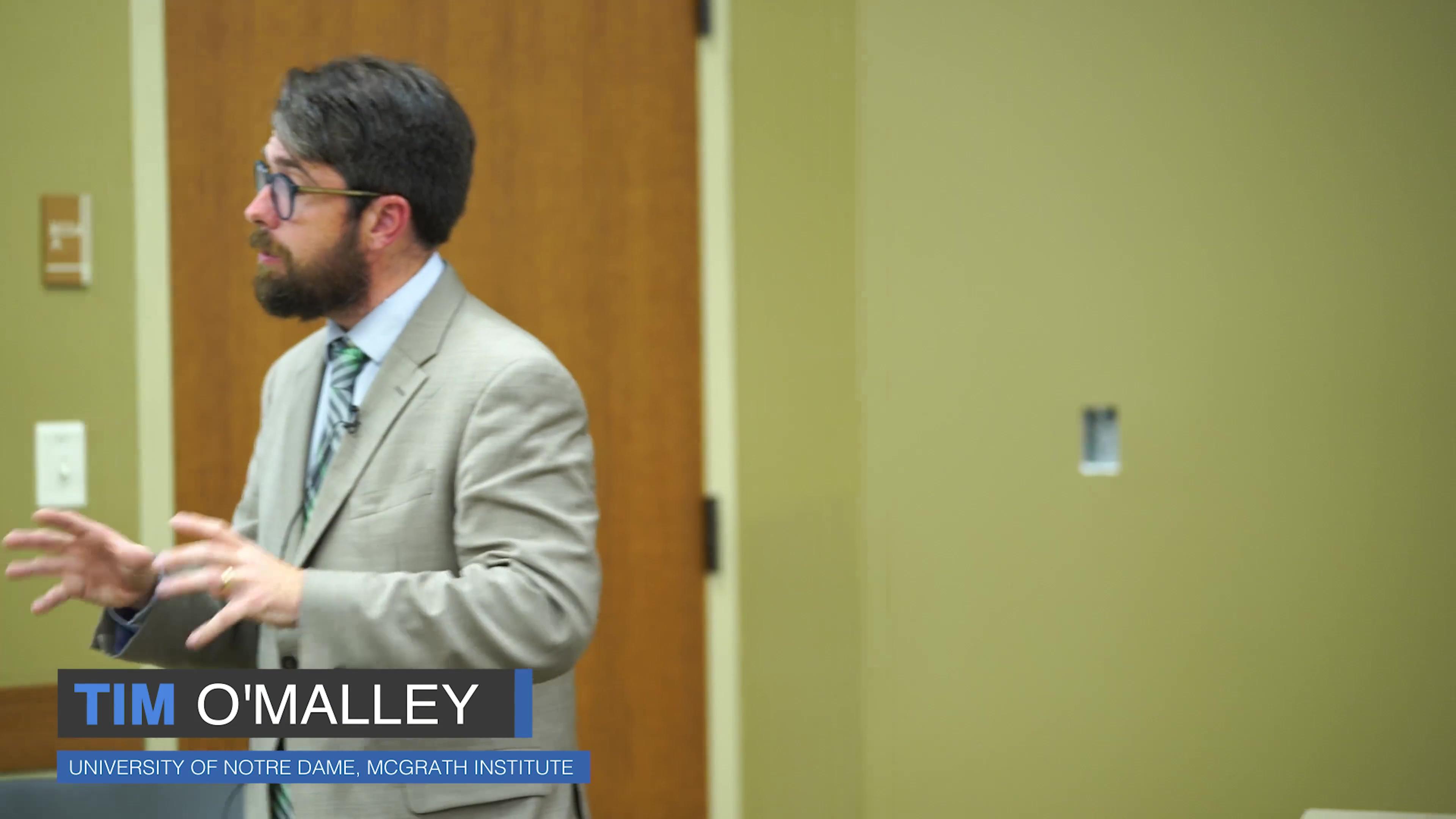 Tim Omalley Talk