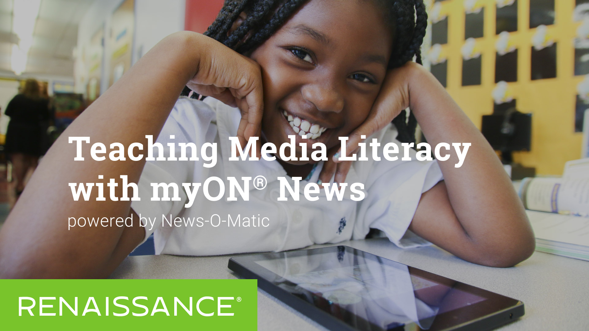 Teaching Media Literacy with myON News