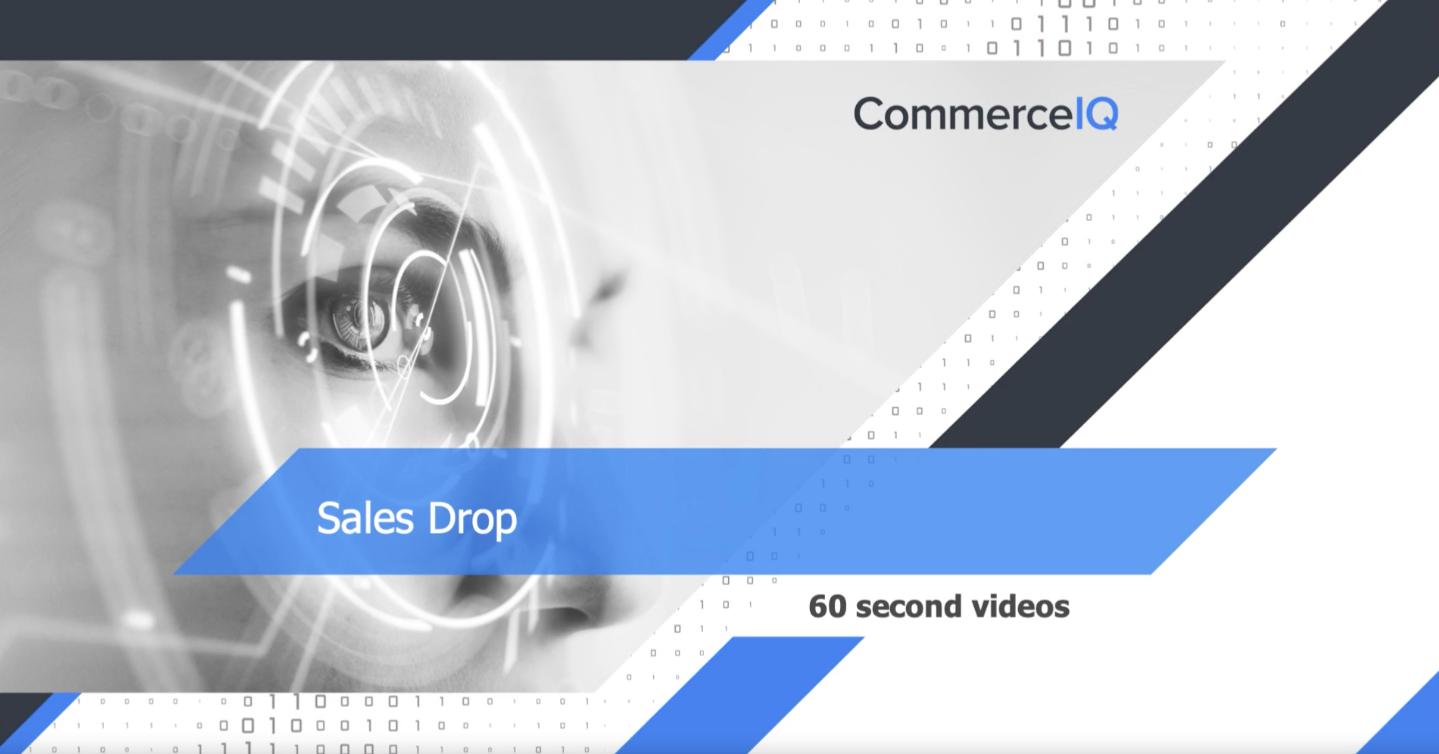 Sales Drop- 60 seconds