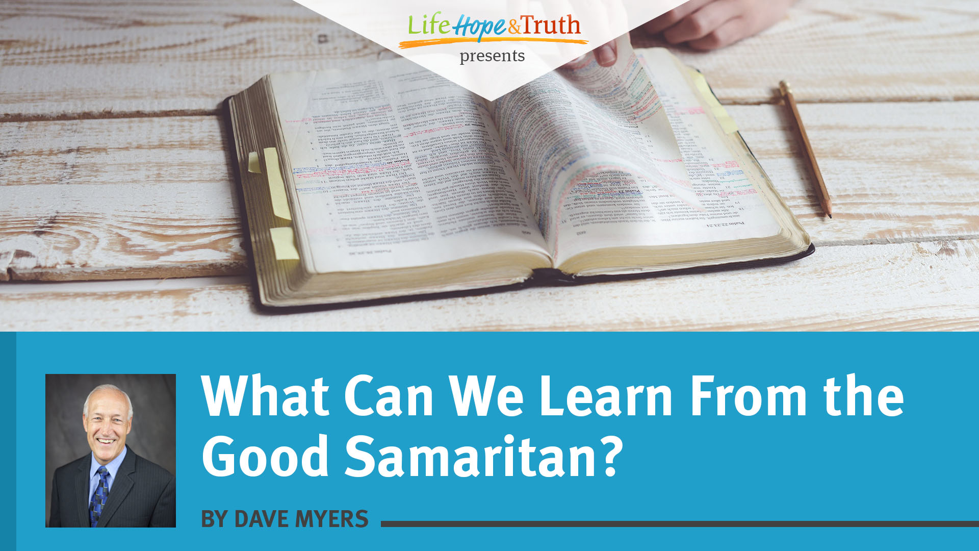 What Can We Learn From the Good Samaritan?