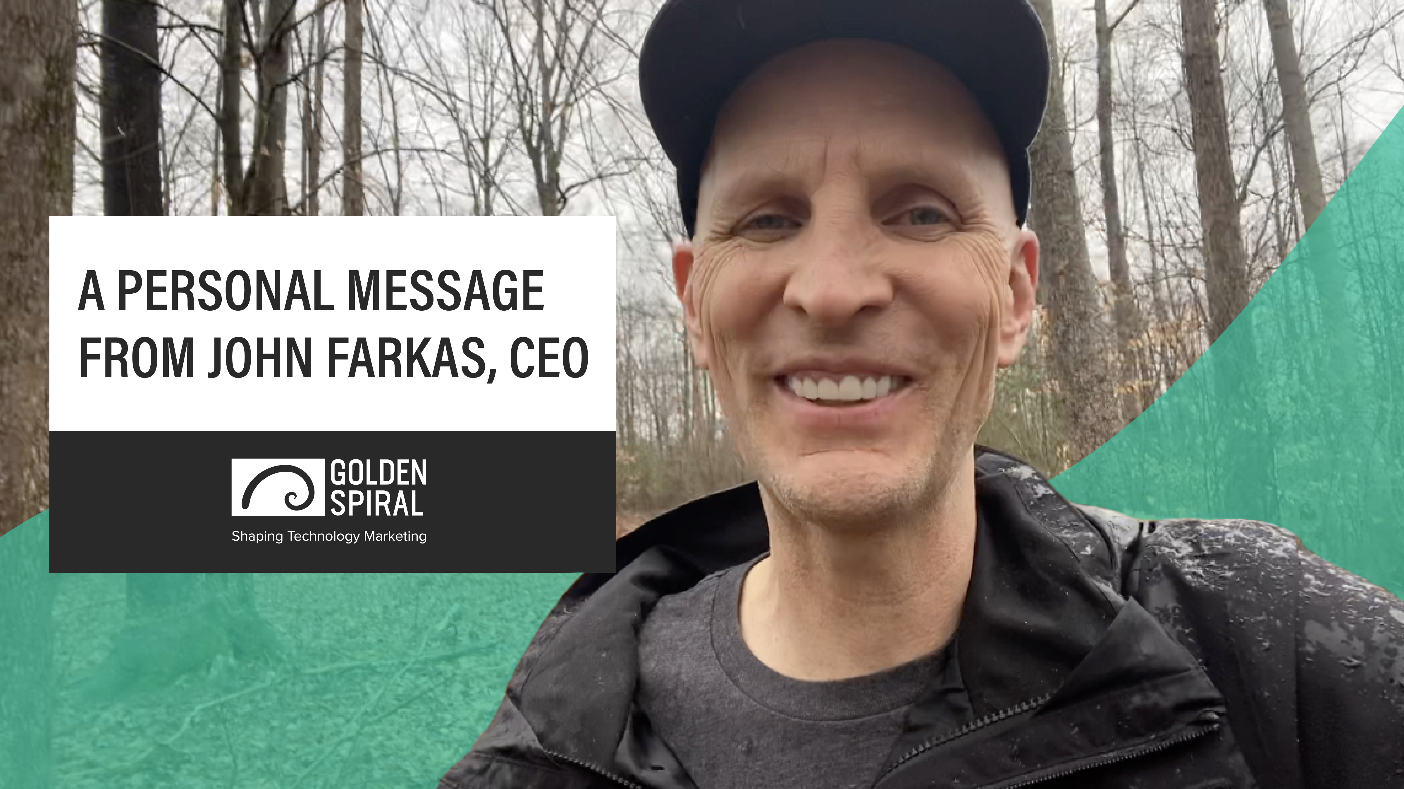 A Personal Offer from John Farkas, CEO of Golden Spiral (720)