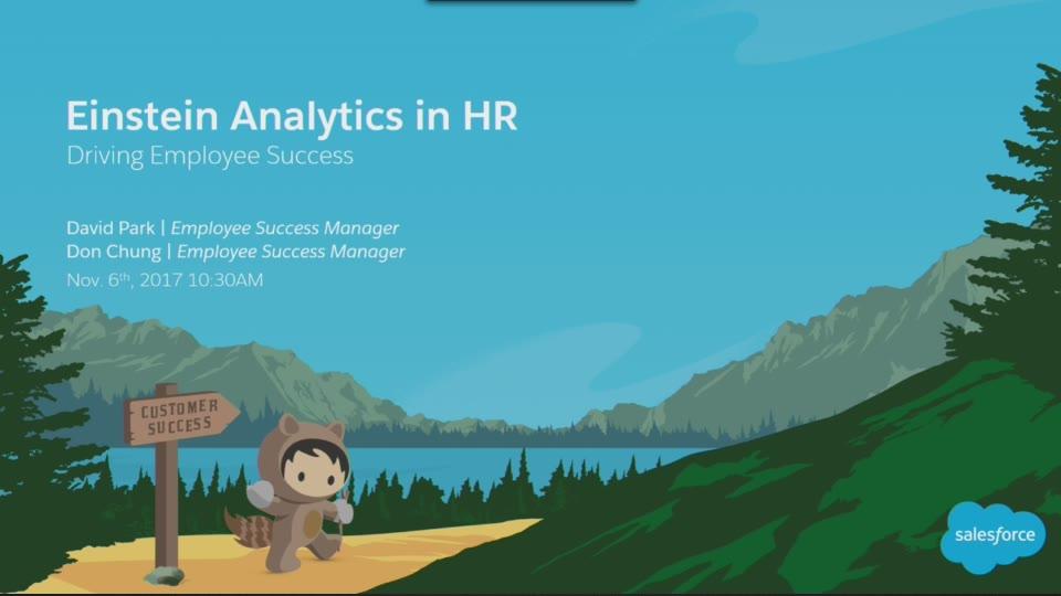 einstein analytics in hr driving employee success salesforce live