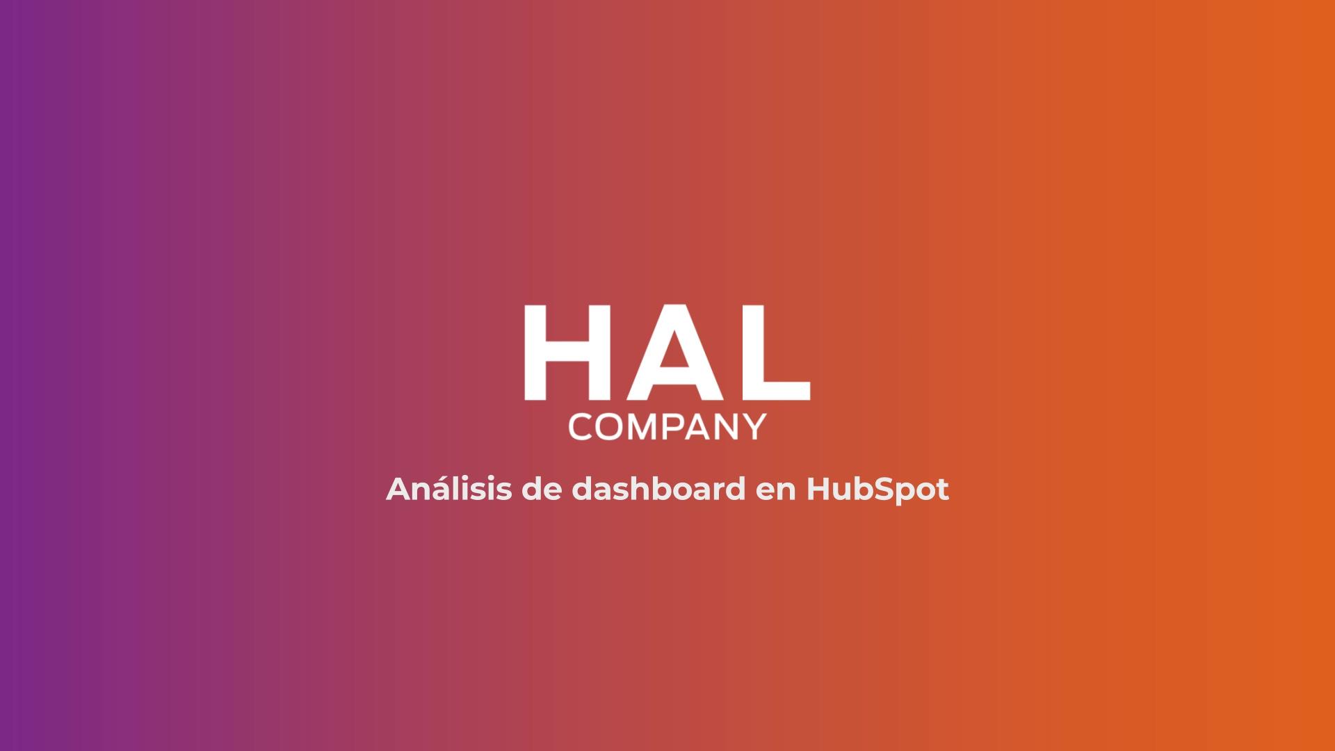 HAL - Dashboard