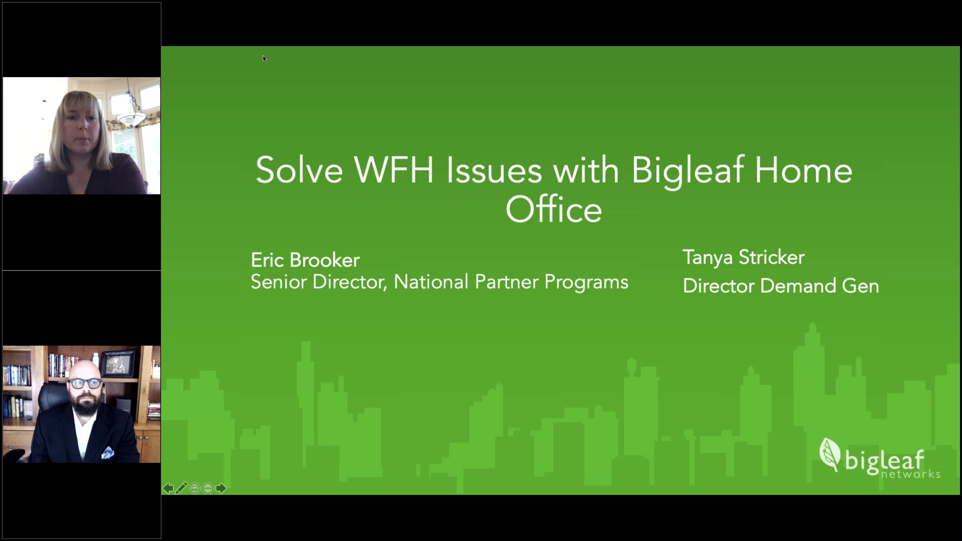 Solve WFH Network Issues with Bigleaf Home Office