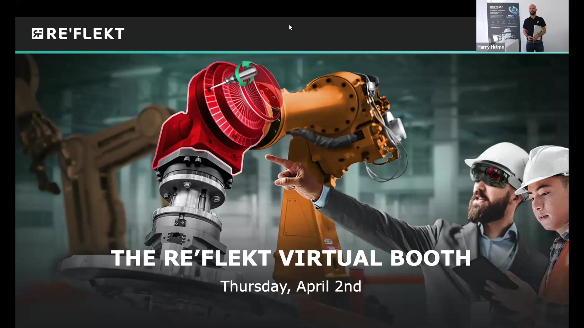 REFLEKT Virtual Booth