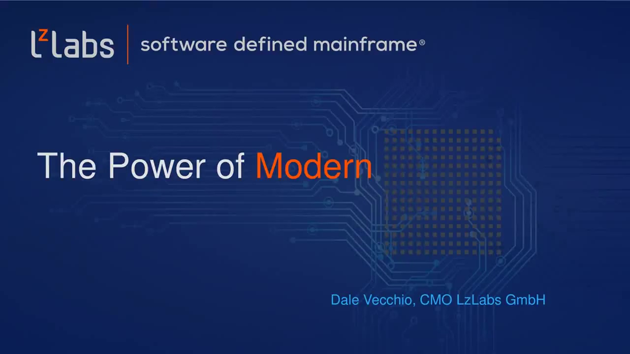 LzLabs webinar - The Power of Modern