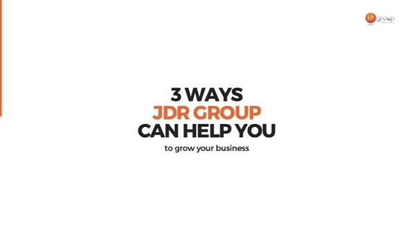 3 Ways JDR Group Can Help You Grow Your Business