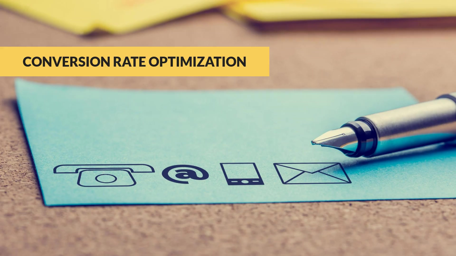 Conversion Rate Optimization - Marketing Peer Group