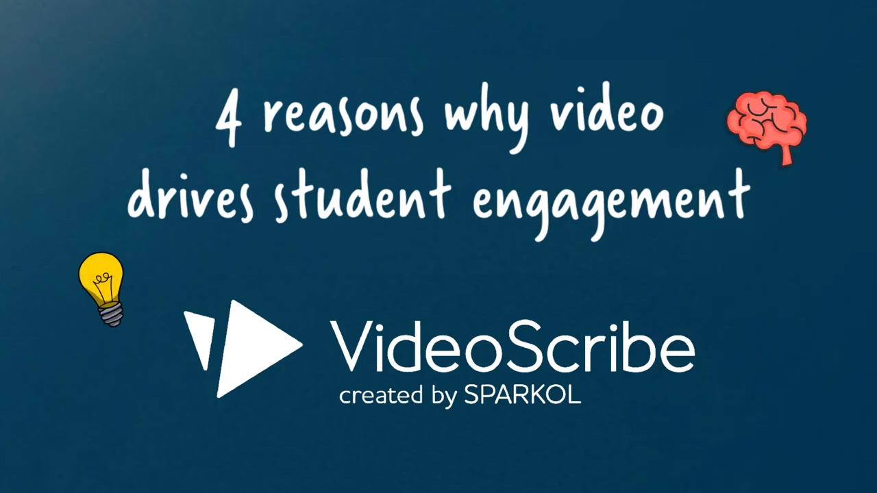 Four reasons why video drives student engagement | VideoScribe