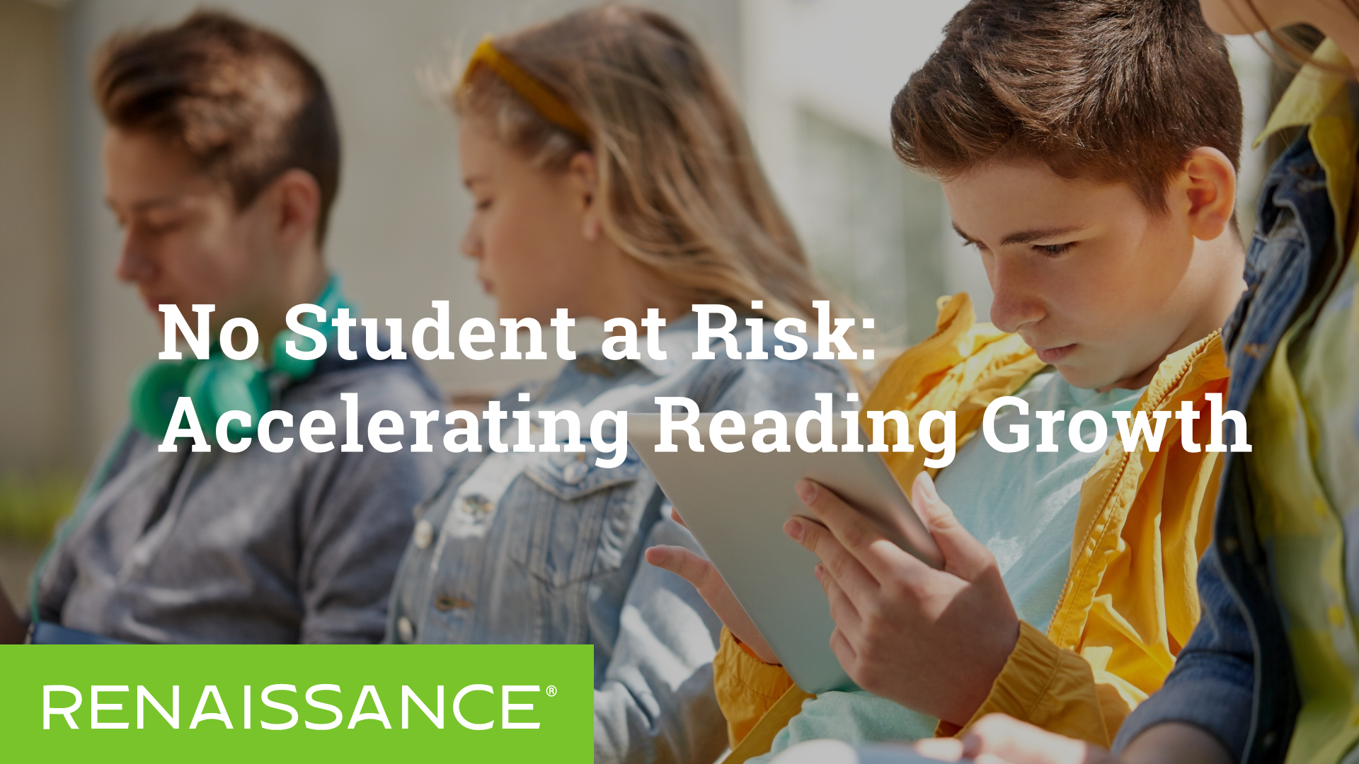 No Student at Risk: Accelerating Reading Growth