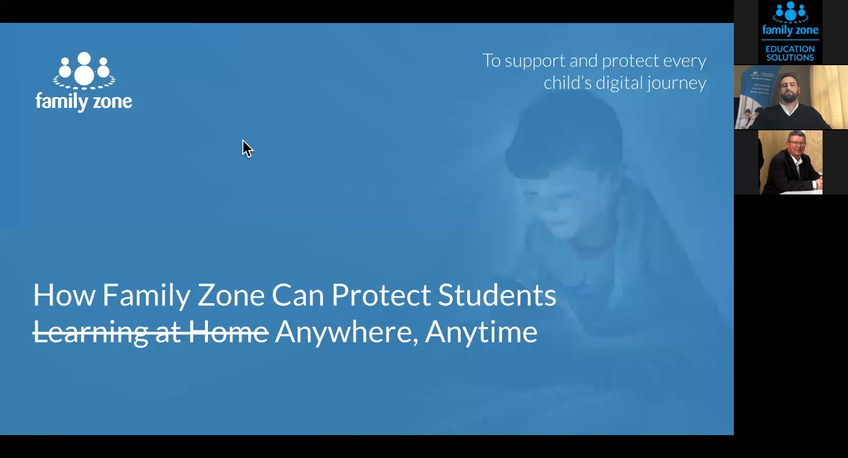 Webinar NZ - How Family Zone can protect students online