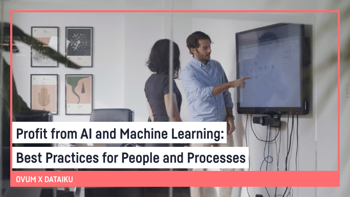 Profit from AI and Machine Learning: Best Practices for People and Processes