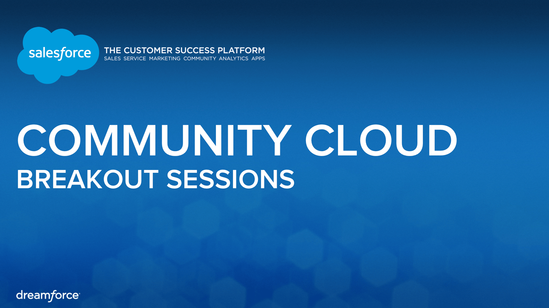 best practices how salesforcecom uses the community cloud