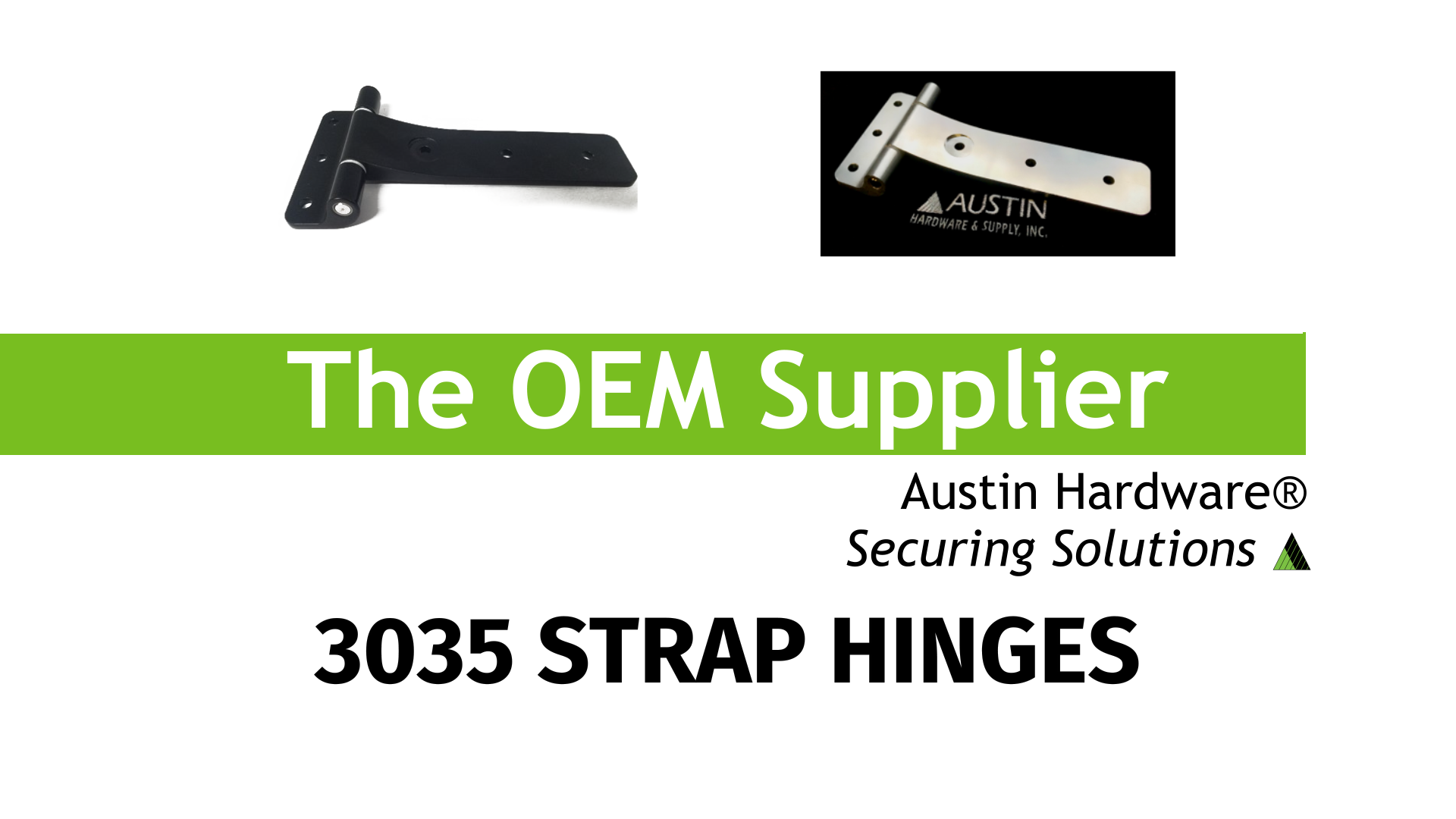 3035 Strap Hinges - Austin Hardware®