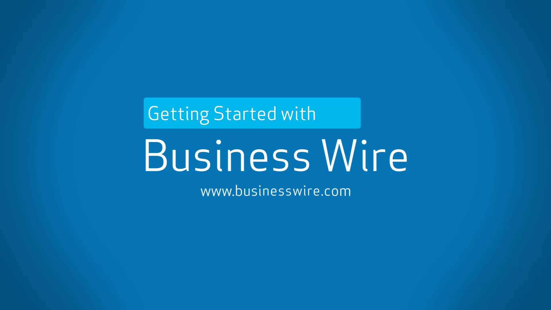 Submitting an Earnings Release with Business Wire