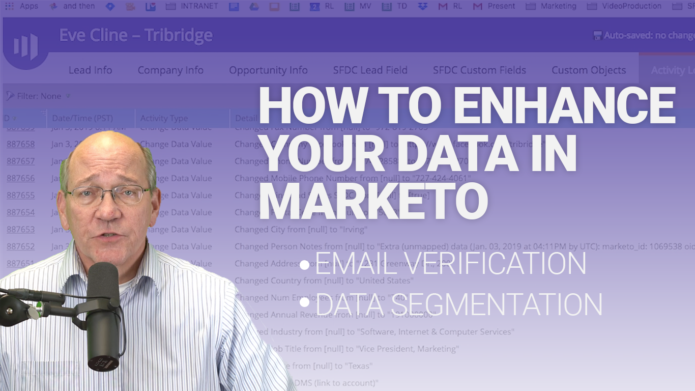 How to enhance your data in Marketo