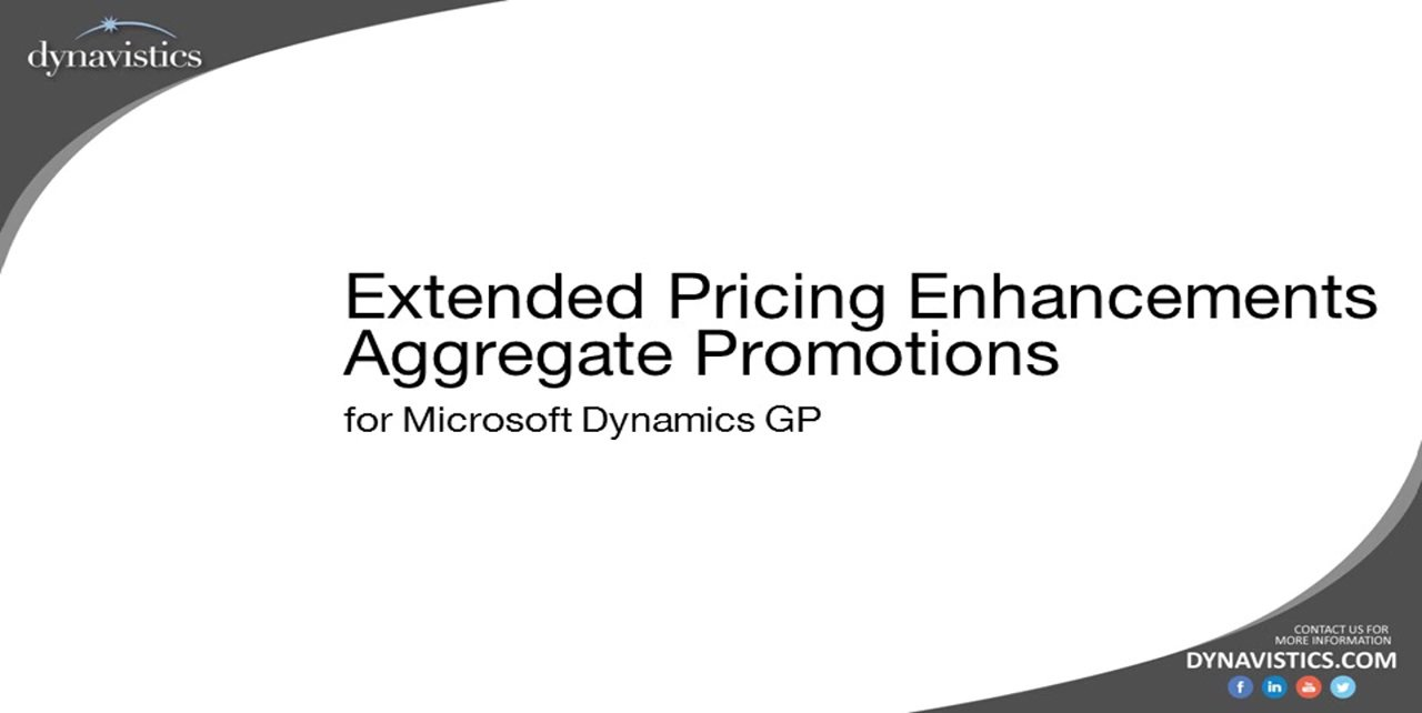 How to Manage Complex Customer Promotions in Dynamics GP