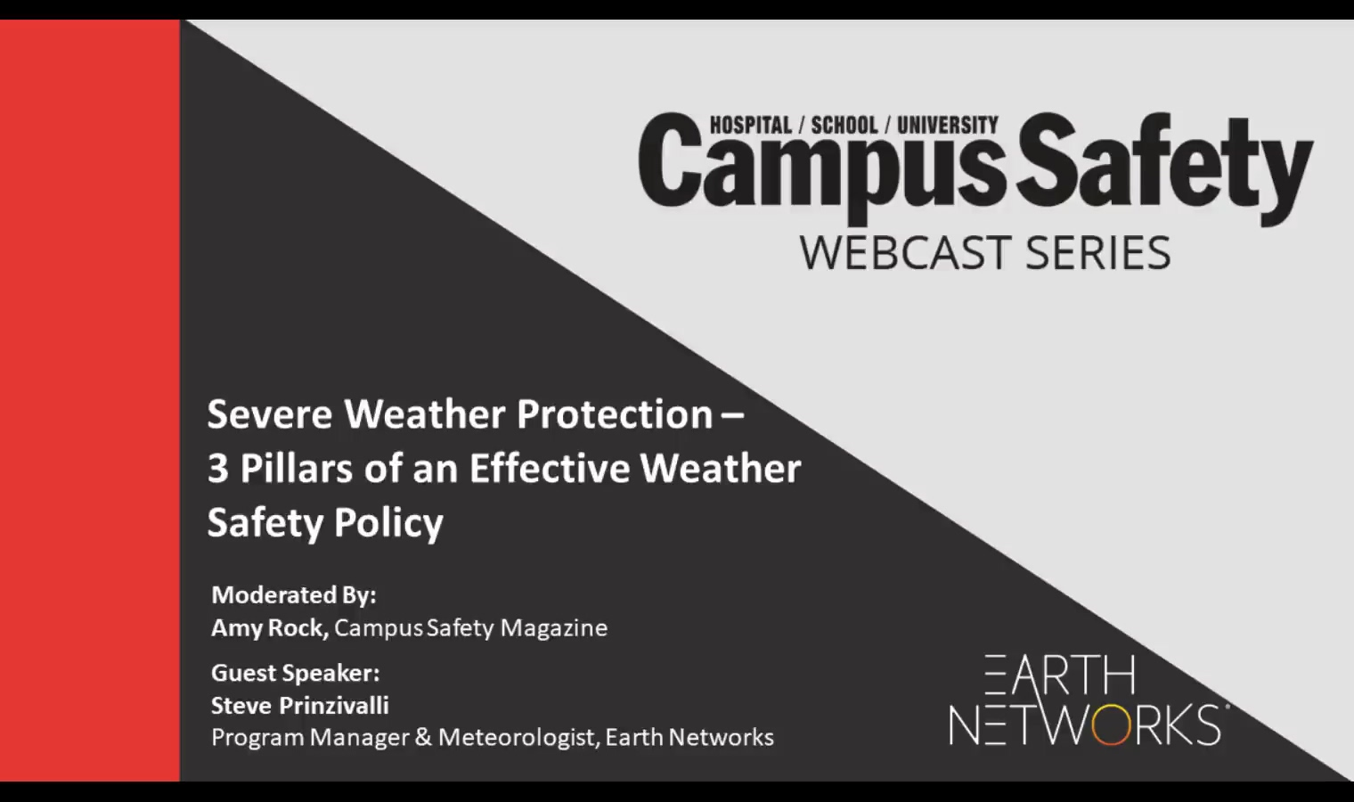 2018 Campus Safety webinar recording_3 pillars of an effective weather safety policy