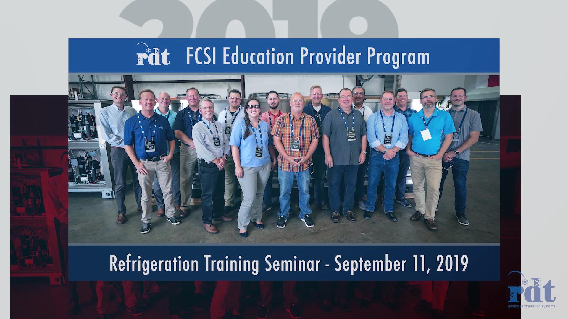 RDT - FCSI 2019 Seminar Slideshow