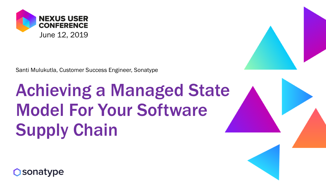 Technology Management Image: Achieving A Managed State Model For Your Software Supply
