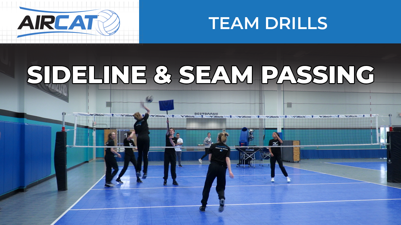 AC Drill - Sideline Seam Passing
