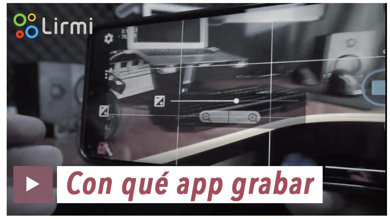 Clase 8- Con que app grabar tu video