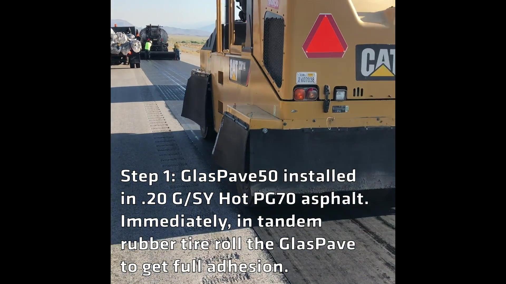 Tensar-Interlayers-GlasPave50-Caltrans-Blackrock-Installation-Video-120518