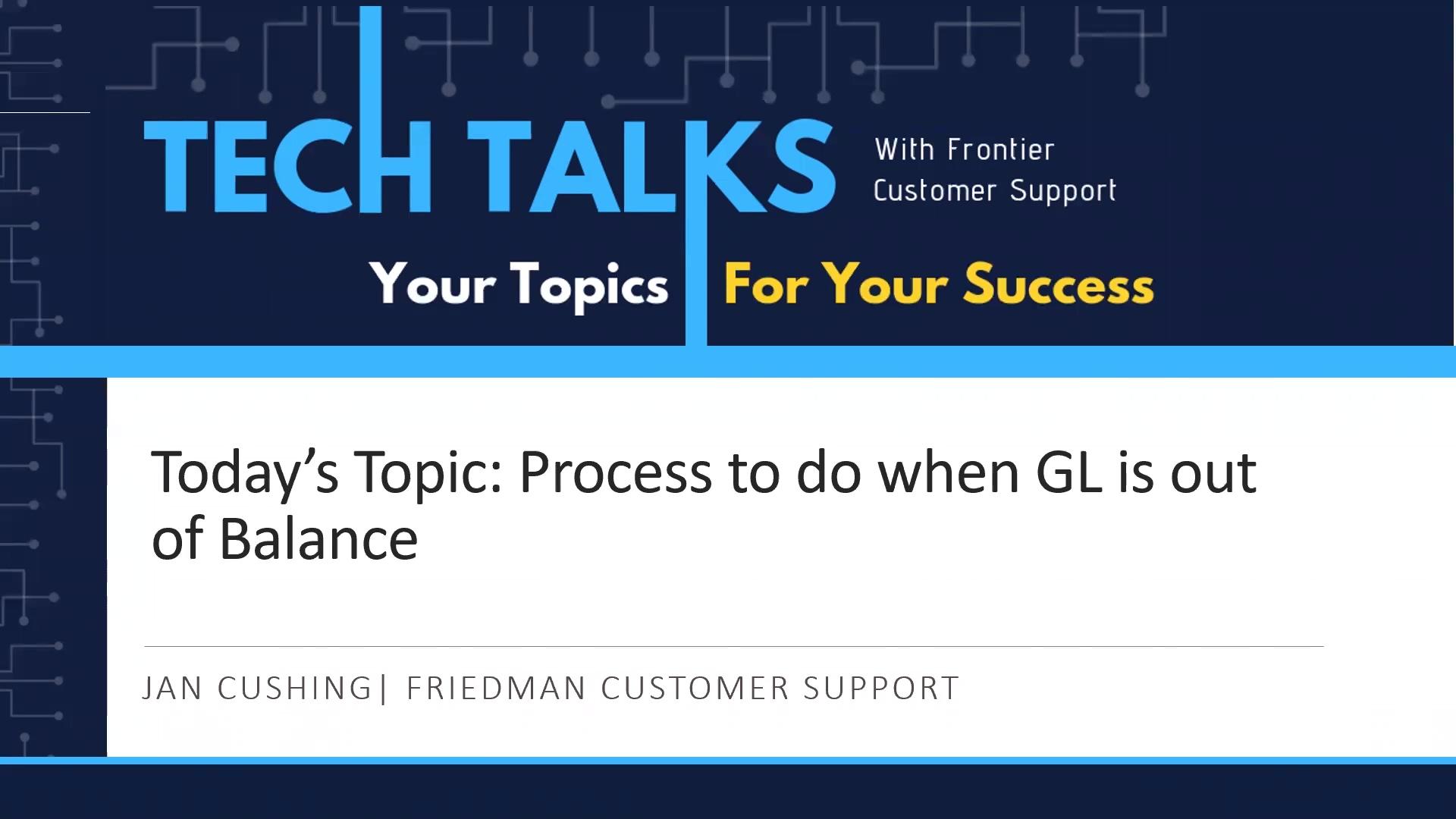 TechTalk_GL_imbalance