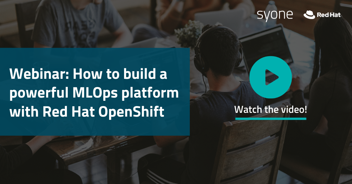 How to build a powerful MLOps platform with Red Hat OpenShift_short