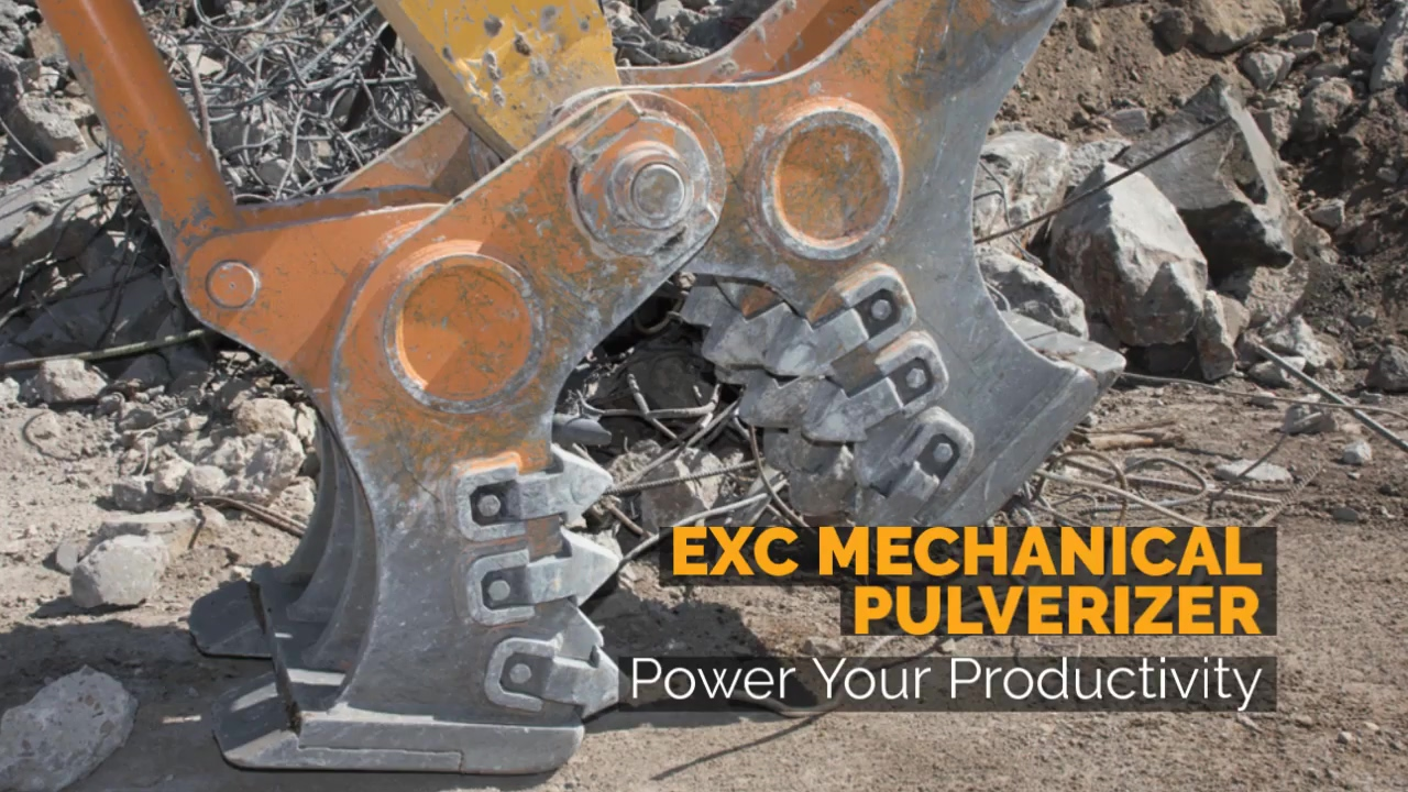 Breaker Technology   EXC Mechanical Pulverizer   Power Your Productivity
