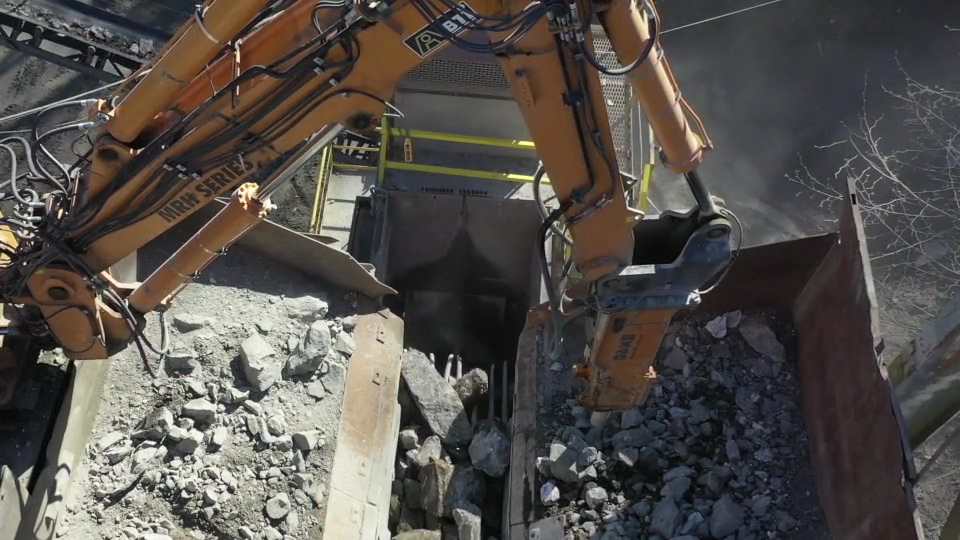 See Why Harrison Construction Depends on the BTI MRH20 BX40 Rockbreaker System