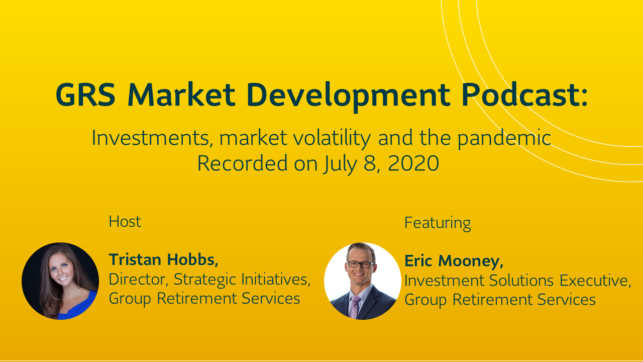 Investments, market volatility and the pandemic